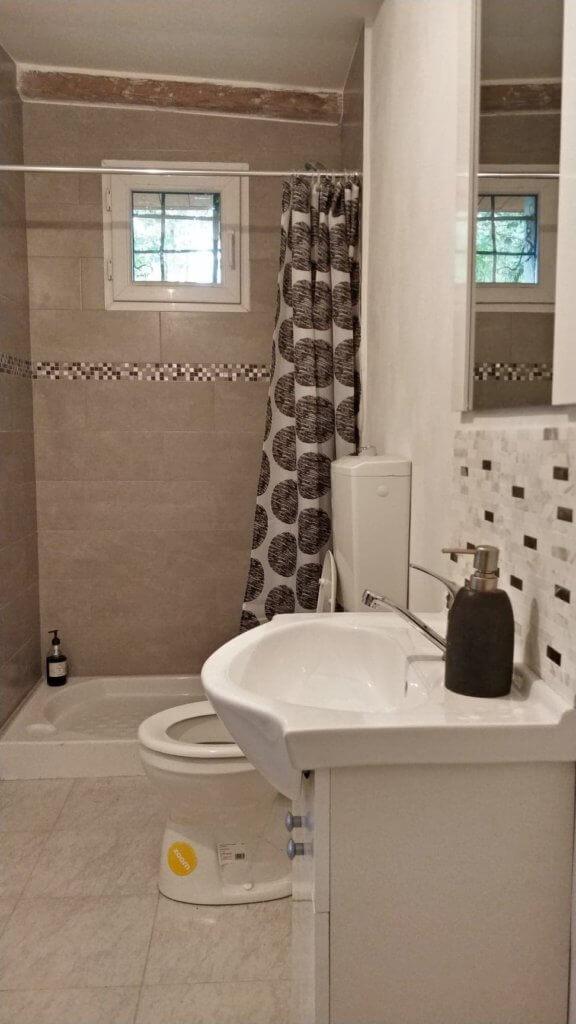renovated old bathroom