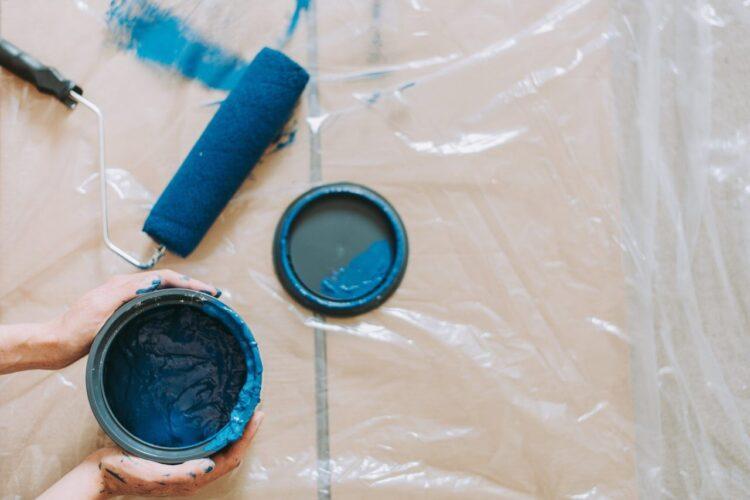 blue-blue-paint-brush