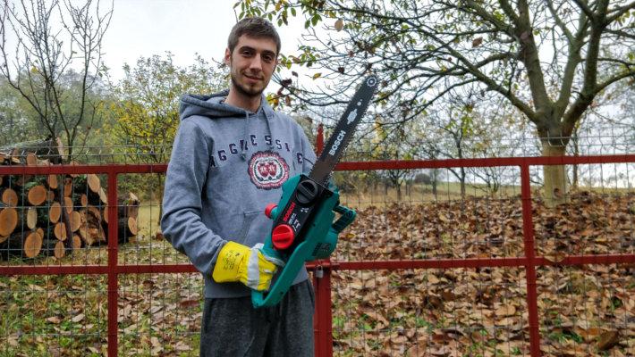 Electric chainsaw BOSCH AKE35S